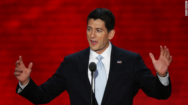 Paul Ryan takes center stage