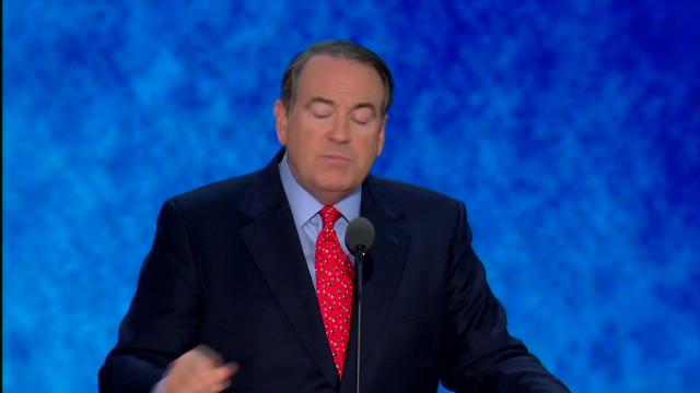 Huckabee addresses Romney's Mormonism