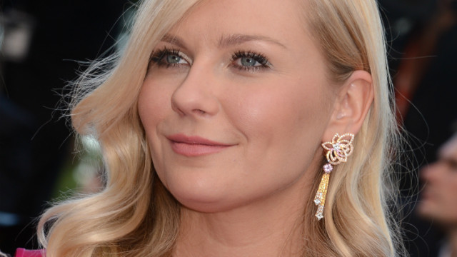 US actress Kirsten Dunst arrives for the screening of 'On the Road'.