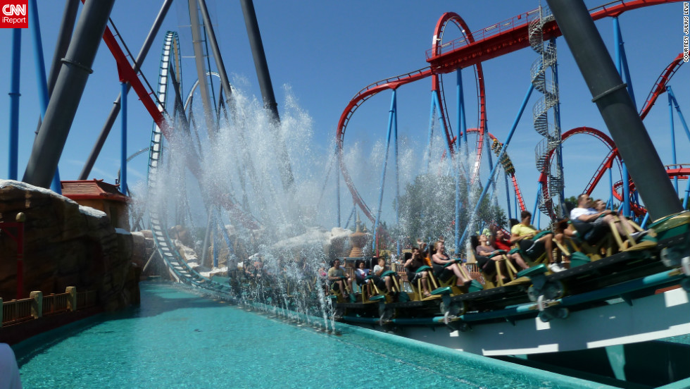 "<a href=""http://ireport.cnn.com/docs/DOC-834047"">Julius Levy rode Shambhala</a> in Salou, Spain. It's PortAventura's newest roller coaster and the tallest coaster in Europe."