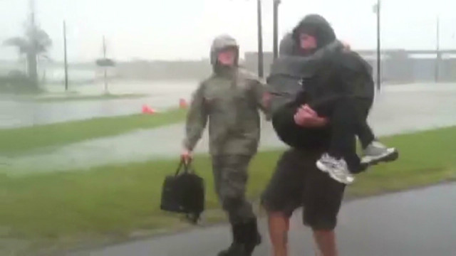 Slow-moving Isaac floods region