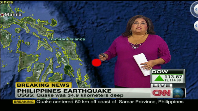 Tsunami warnings issued in Philippines