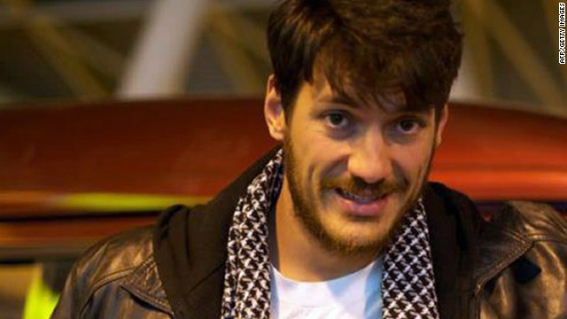 A picture shows Austin Tice in an undisclosed location. The U.S. journalist went missing two weeks ago.