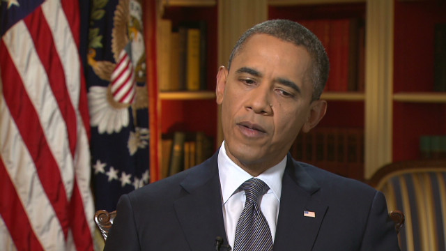 Listen to the President explain what's more important to him than politicking.