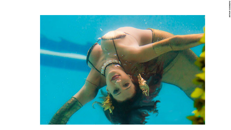Marina Duran-Anderson has been performing underwater for more than 25 years.
