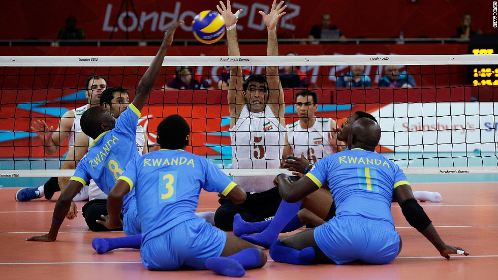 It has been a long road to the London 2012 Paralympics for the Rwandan men's sitting volleyball team, which is the best in Africa.