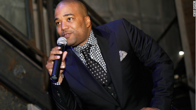 Chris Lighty speaks at the debut of 'Power By 50 Cent' fragrance in 2009 in New York City.