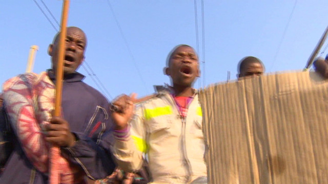 Outrage after S. African miners charged