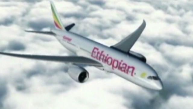 Historic landing for Ethiopian Airlines