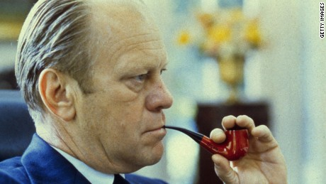 President Gerald Ford never won a presidential election.