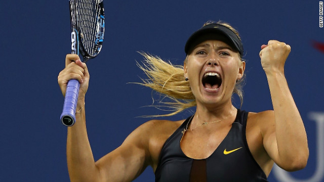 Sharapova has won 23 out of 24 three-setters since the start of 2011.