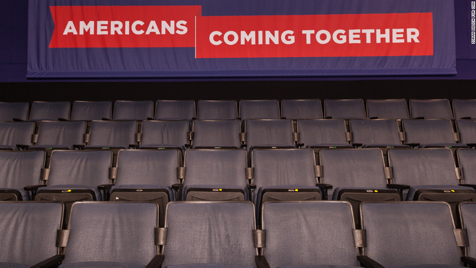 """Americans coming together"" is a theme of this week's Democratic convention."
