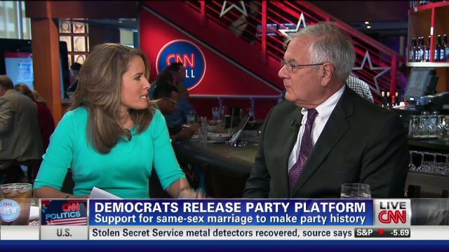 Barney Frank talks DNC