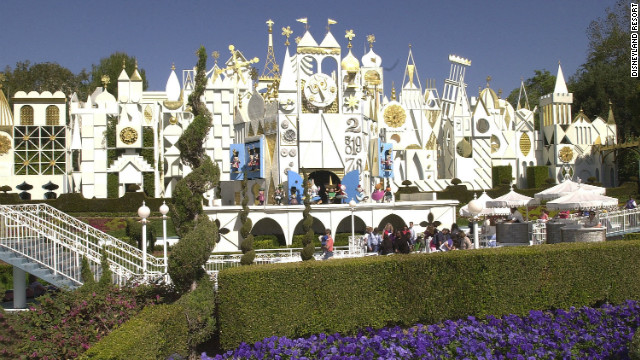 "Disneyland Park's famous ""It's a small world"" attraction."