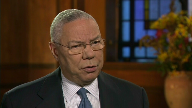 Powell on Obama's foreign policy