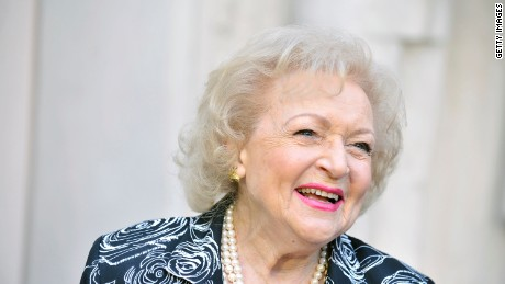 Betty White: 'I am the luckiest old broad on two feet'