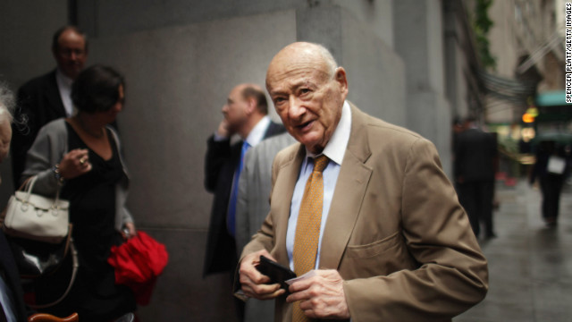 Former New York Mayor Ed Koch has been hospitalized his spokesman said Tuesday.