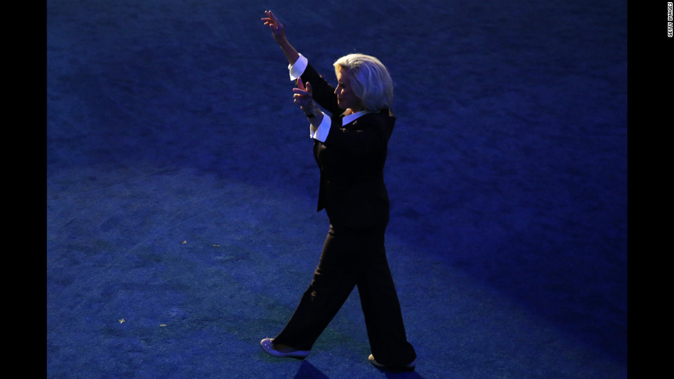 Lilly Ledbetter, whose fight for equal pay resulted in the Fair Pay Act, takes the stage on Tuesday.