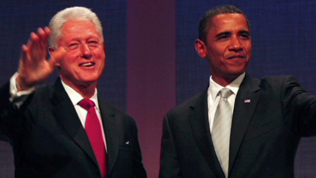 Will Clinton steal spotlight from Obama?