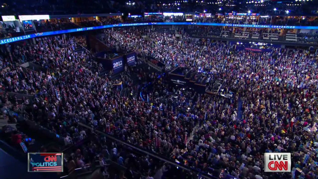Carville: 'One heck of a night' at DNC