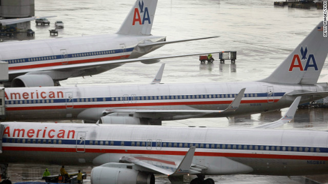 American Airlines was plagued by labor disputes and maintenance problems in September.