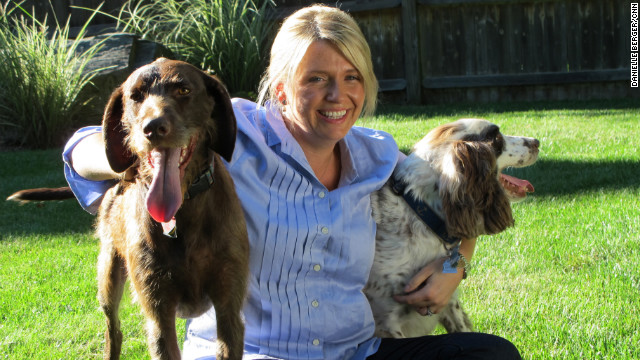Since 2009, Marlo Manning's group has helped nearly 400 dogs stay with their families.