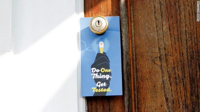 Door-to-door battle against HIV