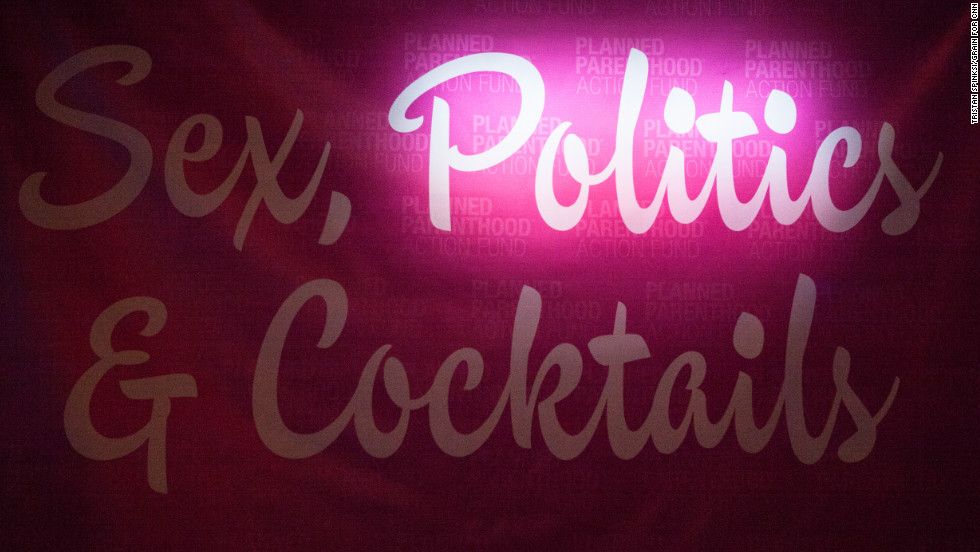 "Without a ticket, Steiner gets into Planned Parenthood's ""Sex, Politics and Cocktails"" party Tuesday night. Working with the nonprofit, nonpartisan Sunlight Foundation, he advocates for greater goverment transparency."