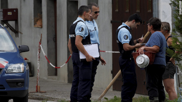 Police seek clues in French shooting
