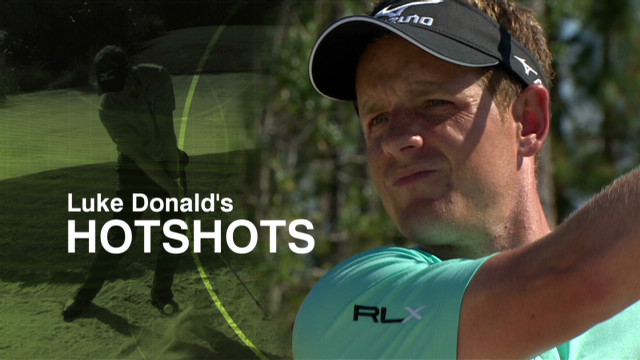 Luke Donald shares his best chip shots