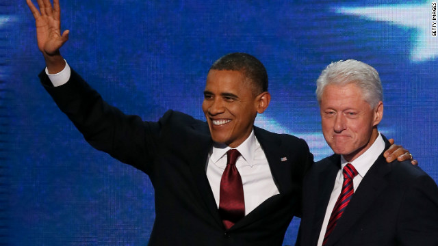 John King says former President Clinton will be a tough act for President Obama to follow Thursday night.