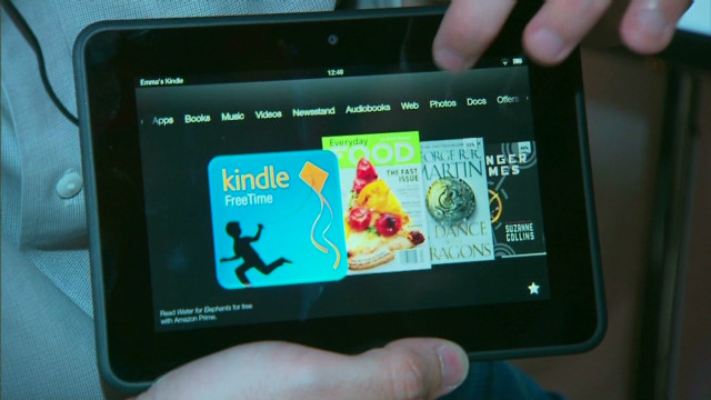 Amazon announces new wave of Kindles