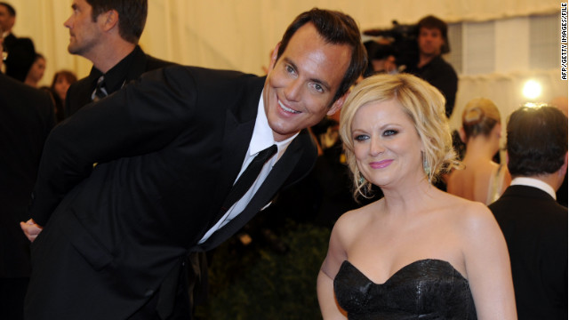Will Arnett and Amy Poehler, seen attending an event in May, have two children.