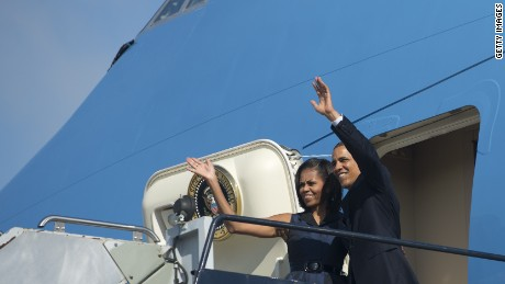 Obamas prepare to exit the White House