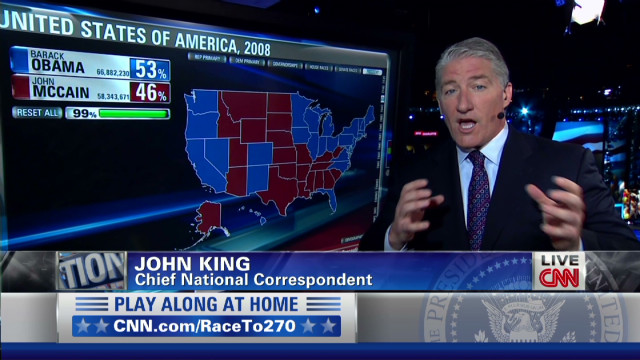 King: Obama and Romney's favorability