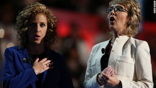 Gabby Giffords rouses convention