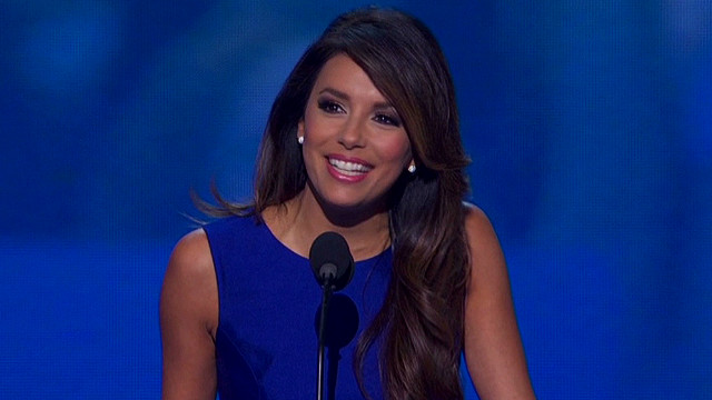 Watch Eva Longoria at the DNC
