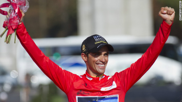 Alberto Contador gave Spanish riders a fourth victory in five years at the Vuelta.