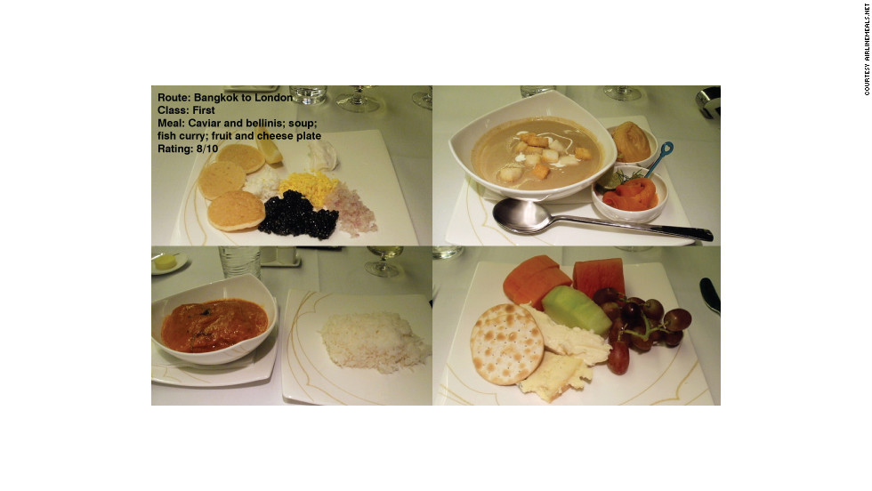 "Tom Obokata added these shots to AirlineMeals.net and wrote simply: ""Pretty decent, although I did not really enjoy the pre-ordered main course (fish curry)."""