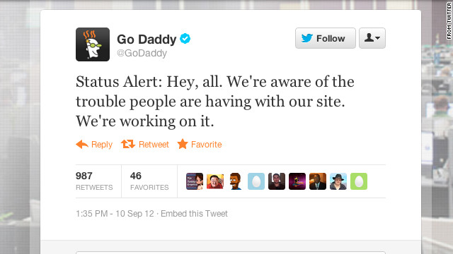 Hacker claims responsibility for GoDaddy outage - CNN