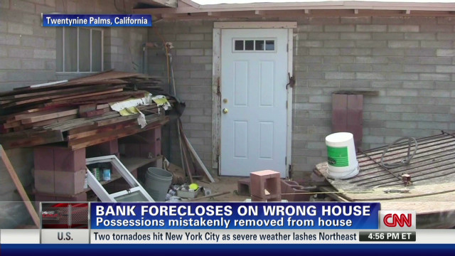Everything lost after foreclosure error