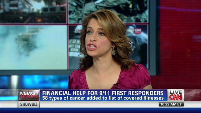 2012: 58 cancers receive 9/11 fund coverage