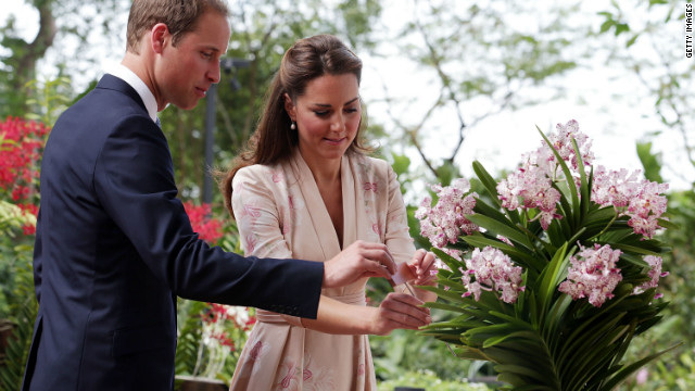 Will and Kate visit Singapore