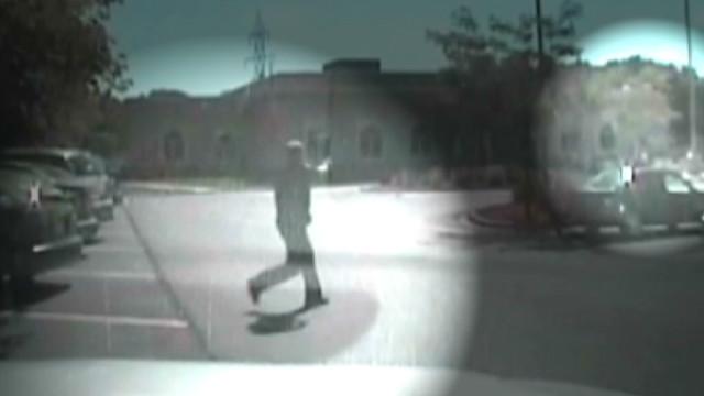 Dashcam video shows temple shootout