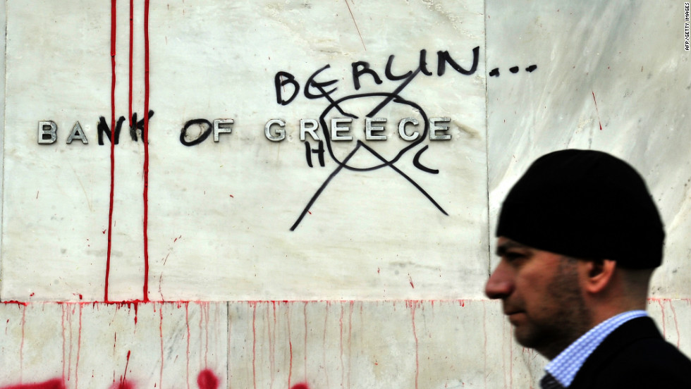 Most think the U.S. understands what Greeks -- or the Irish and Portuguese -- are going through in the hands of a German-dominated austerian Europe.