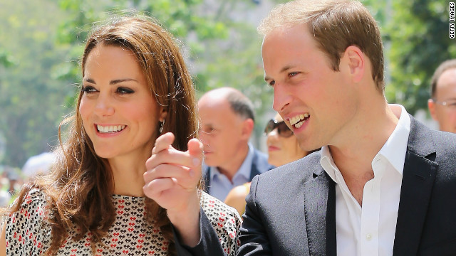 Catherine, Duchess of Cambridge and Prince William, Duke of Cambridge watch demonstrations as they attend a cultural event in Queenstown on Wednesday.
