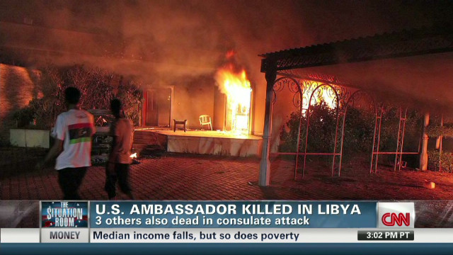 US consulate attack in Libya