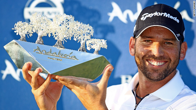 Spain's Sergio Garcia won the Andalucia Masters last year.