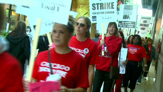 Teacher strike stretches into third day