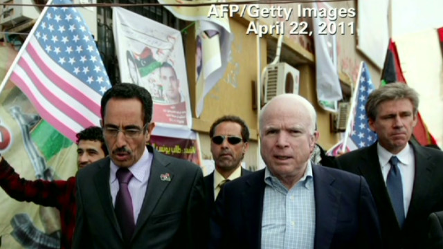 McCain: Obama weak in his leadership